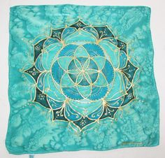 Your place to buy and sell all things handmade Altar Cloth, Seed Of Life, Tarot Spreads, Crystal Grid, Mandala Art, Tarot Cards, Sacred Geometry, Spiritual, Tapestry