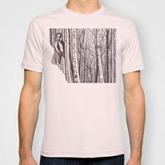 Within by Lars Furtwaengler   Colored Pencil   2014 T-shirt by Lars Furtwaengler - $22.00