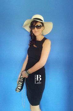 DIVA Bowler-'70 hat. find it at info@neob-lab.com