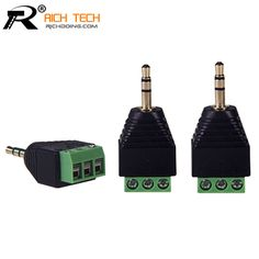 3.5mm 3ploe 1/8 Inch Stereo Male Plug to AV Screw Video Balun Terminal Jack 3.5 mm Male 3 pin Terminal Block Plug Connector #electronicsprojects #electronicsdiy #electronicsgadgets #electronicsdisplay #electronicscircuit #electronicsengineering #electronicsdesign #electronicsorganization #electronicsworkbench #electronicsfor men #electronicshacks #electronicaelectronics #electronicsworkshop #appleelectronics #coolelectronics