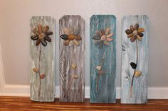 Hey, I found this really awesome Etsy listing at https://www.etsy.com/listing/202354353/3d-rock-flowers-on-reclaimed-fence