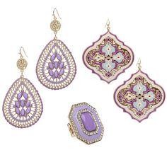 Pretty jewelry from Shoe Dazzle.