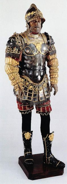 Roman-Style Armor Given to Philip II of Spain (Pesaro, 1546)