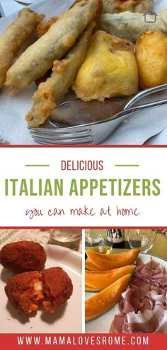 Serving an Italian inspired dinner and looking for the right appetizer to serve? Find out delicious italian appetiser ideas in this list of specialties from the city of Rome Italian Appetizers, Yummy Appetizers, Family Meals, Kids Meals, Fried Zucchini Flowers, How To Make Bruschetta, Rome Food, Grilled Bread, Food Kids