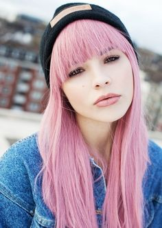 pink street hair