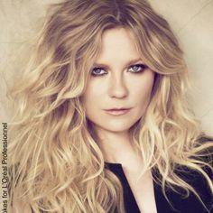 Kirsten Dunst for L'Oréal - Flair http://www.flair.be/nl/beauty/268614/beautynieuws-kirsten-dunst-voor-loreal