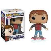 Back to the Future Part II - Marty McFly with Hoverboard Pop! Vinyl Figure