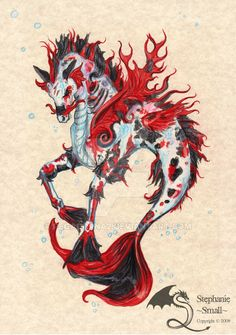 Nishikigoi - Koi Hippocampus by pegacorna2 on DeviantArt