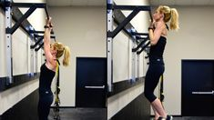 Image result for female chin up