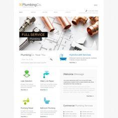 Plumbing Responsive Website Template