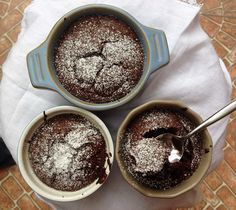 Volcanes de chocolate   Maldeadora Blog