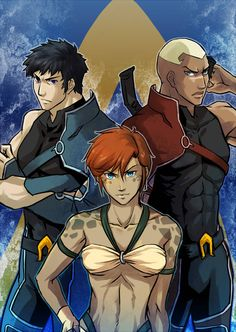 Young Justice the Atlantians( From the Flash Point Paradox)