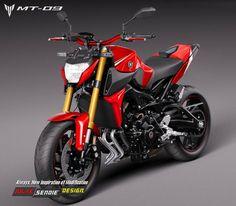 Yamaha MT-09 por JulakSendieDesign
