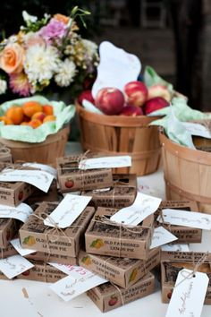 Have Nobel pies from Warwick make the wedding pies and Belvalle Creamery supply the ice cream... make mini pies as the favor