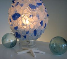 ideas for my sea glass collection.