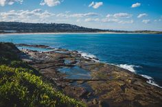 Sydney - Manly to Dee Why Coastal Walk. A glimpse of Dee Why Beach on the coastal walk from Manly Beach. This walk offers breathtaking views and beautiful beaches along its 10 km of length. Sydney Photography, Manly Beach, Beautiful Beaches, Coastal, Backpack, Nerd, Walking, Australia, Water