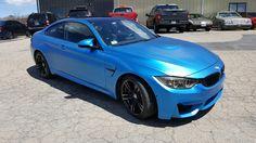 Halo EFX Carbon Blue BMW M4. Removable Automotive Paint