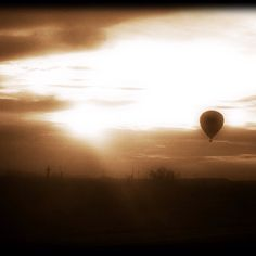 Sunset flight in Arizona - by Tiffannie Bond