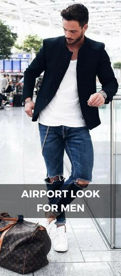 Airport Looks For Guys, Airport Outfit Style For Men – LIFESTYLE BY PS