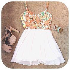 #floral dress