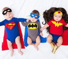 Check Out These Beyond-Cute Triplets in 5 Adorable Costumes — Daily 5