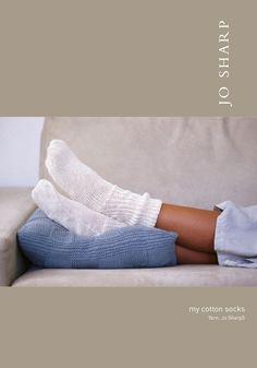 Free Knitting Patterns: Knit Boutique Yarn Store   Cotton Socks