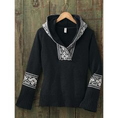 Women's Nordic Wooby Hoodie from Sahalie on shop.CatalogSpree.com, your personal digital mall.