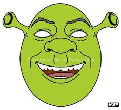 10 Shrek Images Shrek Shrek Memes Printable Halloween Masks