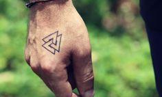 Nordic Tattoos: 45 Most Amazing Scandinavian Tattoos You'll Love . - Tattoo I. - Nordic Tattoos: 45 Most Amazing Scandinavian Tattoos You'll Love … – Tattoo Ideen - Small Tattoos Men, Hand Tattoos, Love Tattoos, Pretty Tattoos, Beautiful Tattoos, Tatoos, Tattoo Band, Diy Tattoo, Thai Tattoo