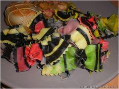"""Paupiettes de dinde aux lardons et champignons - C'est marqué """"servez-vous"""" ;)"""