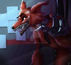 Foxy FNaF by Trickstyr on DeviantArt
