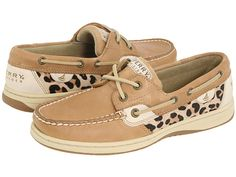 Sperry Top-Sider Bluefish 2-Eye Linen/Leopard Pony     Next purchase!