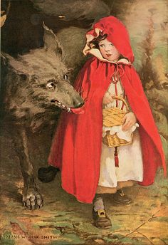 Jessie Wilcox Smith, Little Red Riding Hood by sofi01, via Flickr