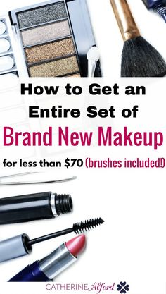 Need new makeup but don't want to spend a lot of money? Here is how to get everything you need for under $70. | makeup, best makeup, make up, cheap makeup, inexpensive makeup, makeup, great makeup