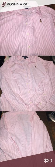 Long Sleeved Ralph Lauren Slim Fit Long Sleeved Ralph Lauren Slim Fit Ralph Lauren Tops Button Down Shirts