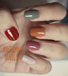 Autumn Nails #NOTD #NAILS