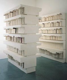 Rachel Whiteread, Untitled (Stacks), 1999