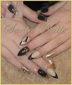 Beige - Black - Gold