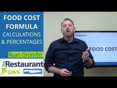 What is the food cost formula and how can you use it to calculate your restaurants food cost percentage. I will explain everything you need to know about foo...