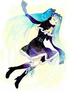 Hatsune Miku #vocaloid #anime