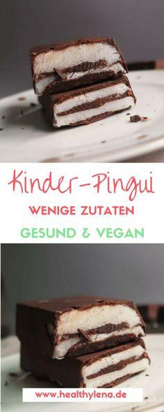 Vegane Kinder-Pingui gesund lecker glutenfrei einfaches rezept