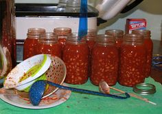 Canning Chili Beans