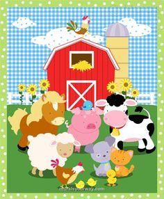 prendedor animales de la granja - Buscar con Google