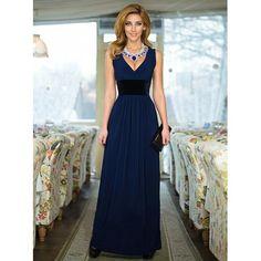 bd40457a1b4 Запрашиваемая страница не найдена! Шикарное длинное женское макси платье  ЛС-Q 28