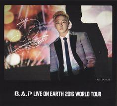 Himchan B.A.P LIVE ON EARTH 2016 WORLD TOUR