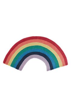 OVER THE RAINBOW luggteppe 150x75 cm - Multi - Tepper - Jotex