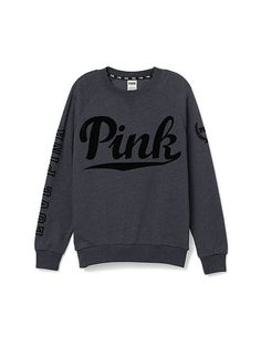 Collection featuring Victoria's Secret PINK Tops, Victoria's Secret Jackets, and 85 other items Pink Vs Sweater, Long Black Sweater, Sweater Shirt, Slouchy Sweater, Victoria Secret Pink, Victoria Secret Outfits, Mac Twig, Pink Outfits, Vs Pink Outfit