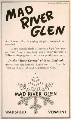 Mad River Glen History - Vermont - NewEnglandSkiHistory.com