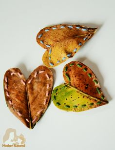Valentine's Day Leaf Heart