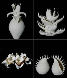 organic forms in clay, its hiding many hours of work behind these, and nature is making it itself without any problem.